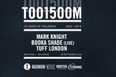 Toolroom 15 u Barutani: Mark Knight-u i Booka Shade-u se pridružuju Tuff London