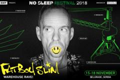 Fatboy Slim specijalno za No Sleep Festival pravi veliki Warehouse Rave u Luci Beograd!