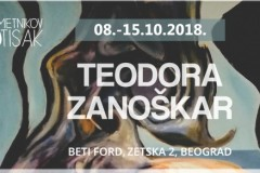 Umetnikov otisak predstavlja izložbu Teodore Zanoškar