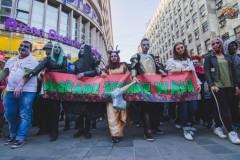 Zombi šetnja u Beogradu 13. oktobra