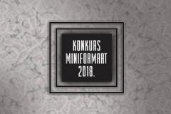 Udruženje Kreativna Fabrika raspisalo je konkurs za kolektivno izlaganje na MiniFORMArt 2018