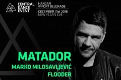Central Dance Event: Doček Nove godine uz Matadora