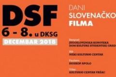 """Dani slovenačkog filma u Domu kulture """"Studentski grad"""""""