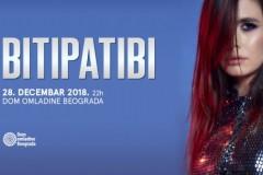 Veliki koncert grupe BITIPATIBI 28. decembra u Domu omladine Beograda