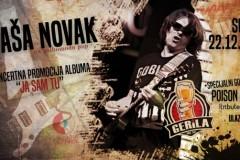 """Saša Novak - Koncertna promocija albuma """"Ja sam tu"""""""