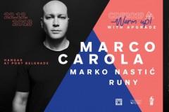 Kralj Ibice Marco Carola otvara sezonu novogodišnjeg provoda u Beogradu
