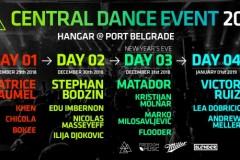 Matador, Stephan Bodzin, Victor Ruiz i Patrice Bäumel nastupaju na četvorodnevnom novogodišnjem festivalu