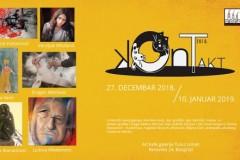 """Udruženje Kreativna fabrika predstavlja kolektivnu izložbu radova na temu """"Kontakt"""""""