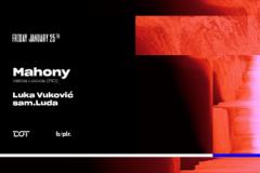 Mahony nastupa prvi put u Beogradu