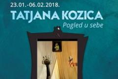 Umetnikov otisak predstavlja izložbu Tatjane Kozice