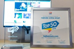 Uredništvo sajta Balkanrock primilo nagradu za najbolji sajt