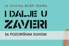 I DALJE U ZAVERI SA POZORIŠNIM DUHOM - Izložba povodom 30 godina Bitef teatra