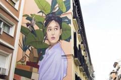 Beogradski umetnik oslikao mural u srcu Madrida