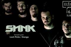 Sink u Elektropinoru 16. marta, uz podršku bendova Lost Picks i Danga