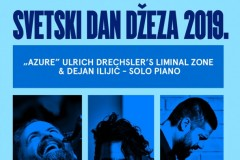 SVETSKI DAN DŽEZA U DOMU OMLADINE: Ulrich Drechsler & Peter Zirbs / Dejan Ilijić solo piano