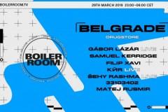 Boiler Room u Dragstoru: Specijalni gosti Samuel Kerridge i Gábor Lázár