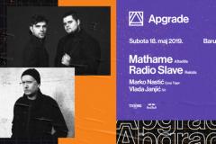Mathame i Radio Slave na prvom Apgrejdu pod vedrim nebom ove godine!
