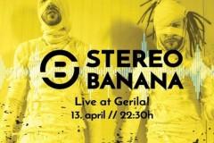 Stereo Banana 13. aprila u Novom Sadu