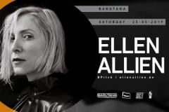 Ellen Allien u Barutani 25. maja