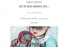 Galerija Novembar proslavlja godišnjicu otvaranjem samostalne izložbe umetnice Selene Vicković