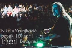Nikola Vranjković 19. aprila u Elektropioniru