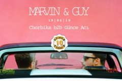 Marvin & Guy // 10 godina KC Grada