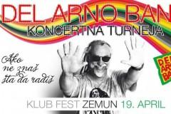 Del Arno Bend se vraća u Fest!