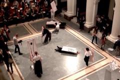 Performans međunarodne grupe umetnika -  Akademija svitaca