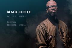 Mag house zvuka BLACK COFFEE ovog maja u Barutani
