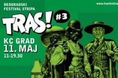Treći Beogradski festival stripa Tras! u maju