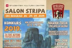 KONKURS MEĐUNARODNOG SALONA STRIPA 2019.