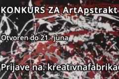 Udruženje Kreativna Fabrika raspisalo je konkurs za kolektivno izlaganje na ArtApstrakt 2019.
