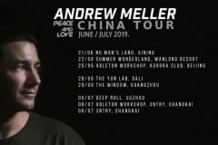 Andrew Meller kreće na turneju po Kini