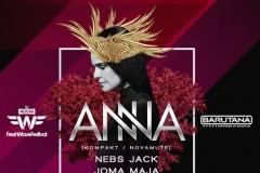 Vatra i Fresh Wave promo žurka sa Anna-om u Barutani