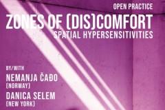 Otvoren poziv za učešće na radionici: Zones of (dis)comfort: Spatial Hypersensitivities
