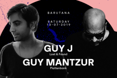 Guy J i Guy Mantzur 13. jula u Barutani