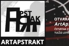 """Otvaranje kolektivne izložbe: """"Art Aptrakt 2019."""""""