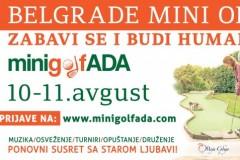 Prvi Belgrade Mini Open na Adi