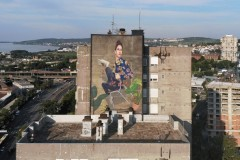 Above the clouds – novi Artezov mural