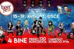 Izmenjen muzički program 17. Belgrade Beer Festa