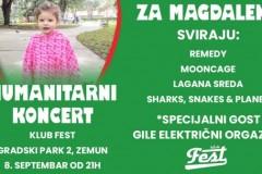 Humanitarni koncert - Fest za Magdalenu