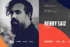 Henry Saiz DJ set u Barutani