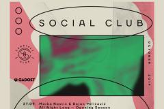Social Club nova sezona 2019. / 2020.