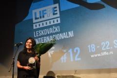 Svečanom dodelom nagrada zatvoren 12. Leskovački festival filmske režije LIFFE