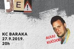 Otvaranje samostalne izložbe Vojislava Pavlovića alias Sona u Kc Baraka