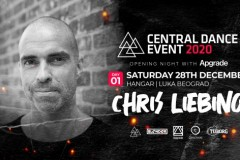 Otvaranje Central Dance Event-a, u saradnji sa Apgrade-om, uz Chris-a Liebing-a