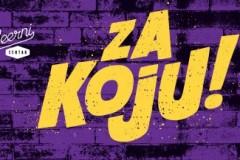 ZA KOJU - koncerti podrške u SubBeernom Centru i Elektropioniru