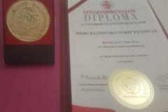 HSF dobitnik Velike zlatne medalje za kvalitet manifestacije
