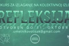 """Konkurs za kolektivnu izložbu: """" Refleksija 2019. """""""