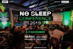 Velika No Sleep konferencija kao uvertira za maratonski vikend!